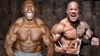 getlinkyoutube.com-Terry Crews VS Dwayne The Rock Johnson & Motivation