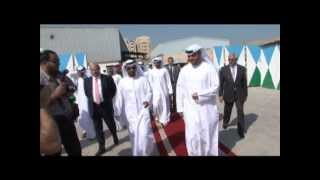 Shk Ahmed Al Nuaimi Lays Cornerstone For Ajman Creek Investment Project