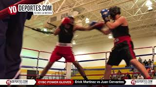Erick Martinez vs Juan Cervantes CYBC Power Gloves