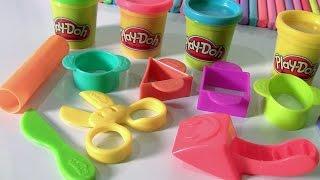 getlinkyoutube.com-Play Doh Kit de Iniciantes em Portugues Brasil ToysBR |  Play-Doh Starter Set Toys BR em Portugues