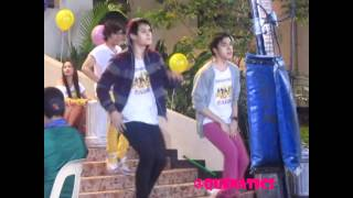 Good Vibes Behind the Scene -- Quenatics