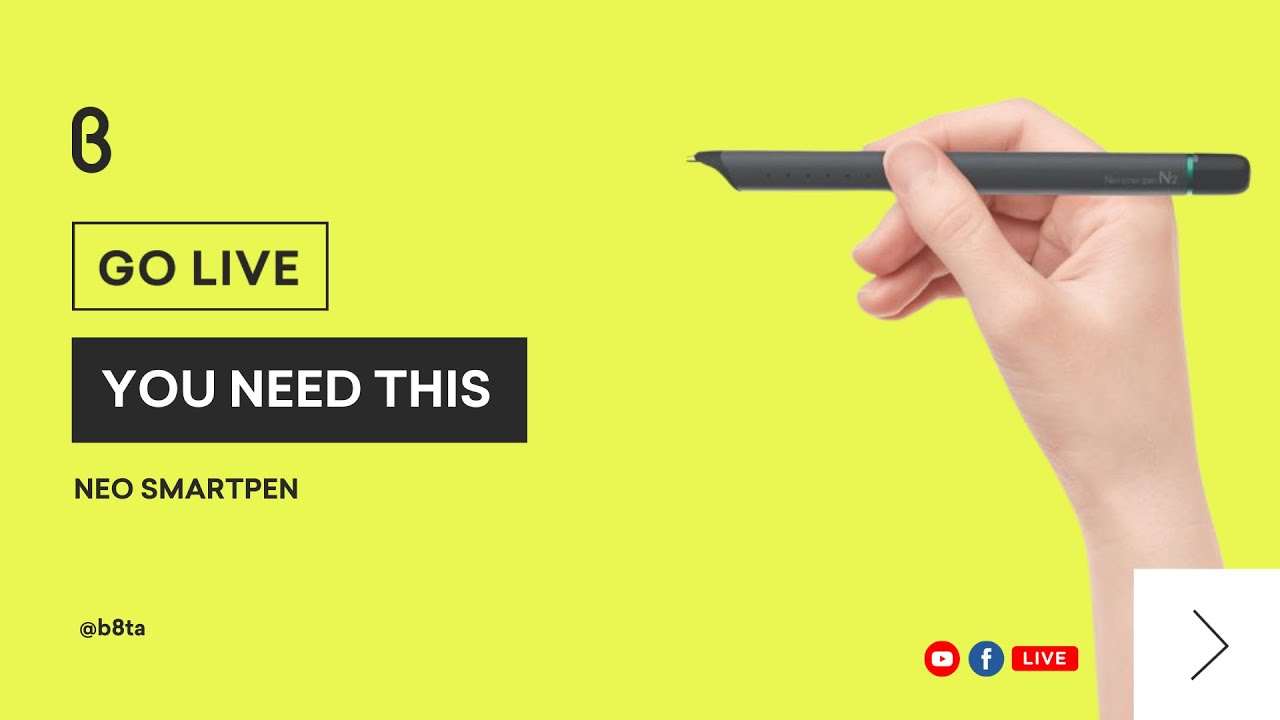 You Need This featureing Neo Smartpen