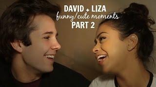 getlinkyoutube.com-david + liza   funny/cute moments (part two)