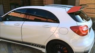 getlinkyoutube.com-Mercedes А 45 AMG Edition 1
