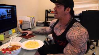 getlinkyoutube.com-5% Rich Piana's Morning Routine pt2