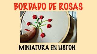 getlinkyoutube.com-BORDADO DE ROSAS EN LISTON