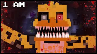 getlinkyoutube.com-Minecraft FNAF - Nightmare Chica | 1 AM (FNAF Minecraft Roleplay)