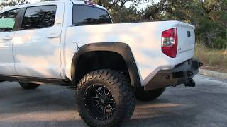 """2014 Toyota Tundra CrewMax for Sale 10"""" BDS Lift Fab Fours Bumpers Full Audio System"""