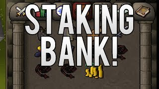 getlinkyoutube.com-Runescape 2007: Staking BANK With Live Commentary PART #1 - OLDSCHOOL RUNESCAPE STAKING