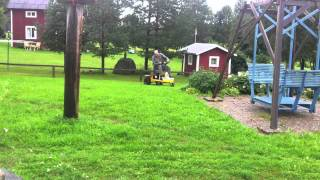 Lawnmower with electric engine