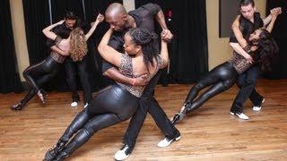 getlinkyoutube.com-Balmir's Kizomba at Balmir's Latin Dance Studio 2nd anniversary