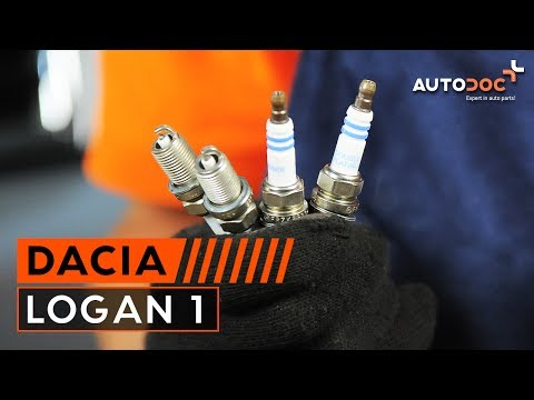 Где свечи зажигания у Dacia Logan