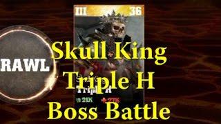 WWE Immortals - Skull King Triple H Boss Battle - Gold Stone Cold & Macho Man Too!