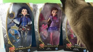 Disney Descendants Jane Doll Unboxing Auradon Prep Fairy Godmother | PSToyReviews