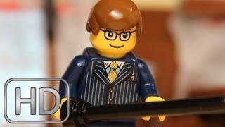 "getlinkyoutube.com-Kingsman: The Secret Service   ""Bar Fight"" Scene IN LEGO"
