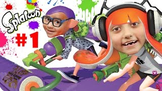 getlinkyoutube.com-Lets Play SPLATOON Part 1: We Are So Not Fresh Yet!  Lair of the Octoballs Gameplay #cuttlefish