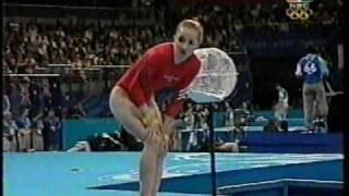getlinkyoutube.com-Kristen Maloney - 2000 Sydney Olympics Women's Gymnastics Prelims - Vault