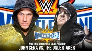 getlinkyoutube.com-WWE Wrestlemania 33 Trailer | John Cena vs. The Undertaker (WWE 2K17 Story)