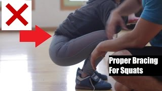getlinkyoutube.com-FIXING A BROKEN SQUAT II: PROPER BRACING (Ft. Jazmine Garcia)