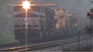 getlinkyoutube.com-Norfolk Southern 361 High & Wide Cat Load w/ Super Crew! Mableton,Ga 07-12-2010© (16x9)