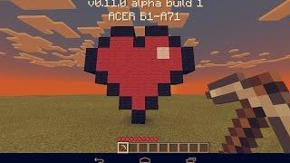 getlinkyoutube.com-Como Hacer un Corazón en Minecraft |2015