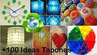 getlinkyoutube.com-Reciclaje de Tapones +100 Ideas / Recycled caps +100 Ideas