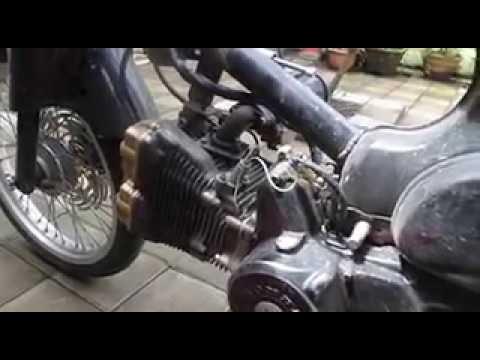 Honda C-70 With Suzuki Rider / Satria FU Cylinder Set 180 cc
