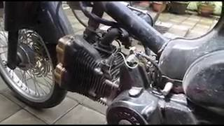 getlinkyoutube.com-Honda C-70 With Suzuki Rider / Satria FU Cylinder Set 180 cc
