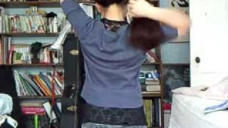 getlinkyoutube.com-Long Hair Combing/Brushing