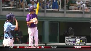 Little League Pitcher Throws Curveball, Fools Batter