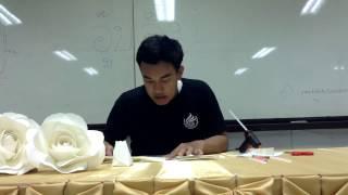 getlinkyoutube.com-สอนทำดอกกุหลาบจากกระดาษ