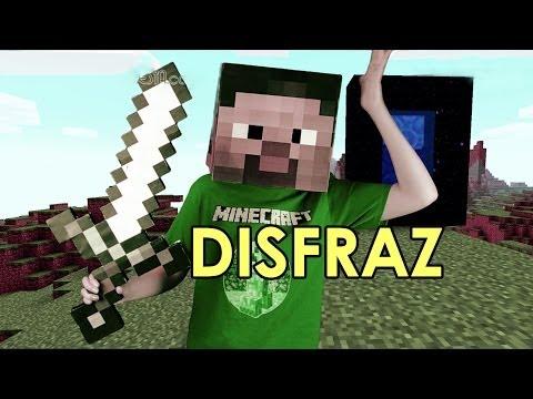 de Disfraz De Minecraft Facil Como Hacer Un Disfraz De Steve Gratis