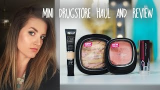 getlinkyoutube.com-Mini Drugstore Haul/Review: Wet N Wild and Maybelline