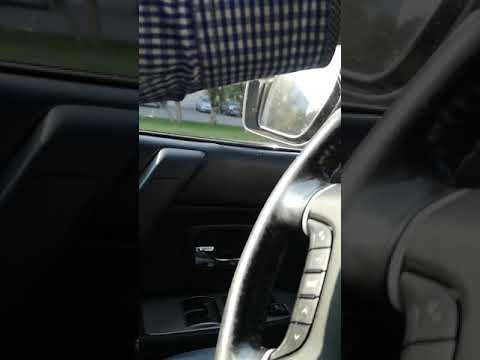 Я в первый раз за рулем на митсуби паджеро