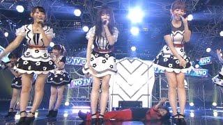 getlinkyoutube.com-【放送事故】 AKB48 岡村隆史がぱるる&小嶋陽菜のパンツの中を覗くセクハラ 27時間テレビ