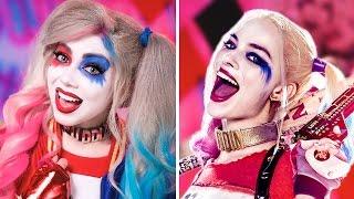 getlinkyoutube.com-Harley Quinn MAKEUP! | Charisma Star