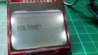 getlinkyoutube.com-Arduino Nokia 5110 LCD Tutorial #3 - Live Numerical Data