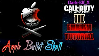 getlinkyoutube.com-Black Ops 3 Emblem - Apple Bullet Skull