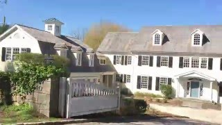 getlinkyoutube.com-ON THE ROAD: A Drive by to TURKEY HILL, Martha Stewart's old house in Westport!