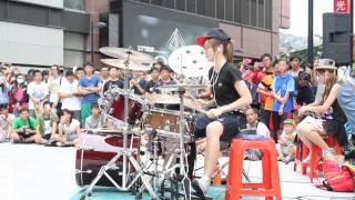 getlinkyoutube.com-20140704 爵士鼓 羅小白 - Roly Poly
