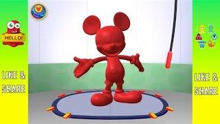 getlinkyoutube.com-Mickey Maus Wunderhaus, Knetspaß – App für Kids