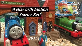 getlinkyoutube.com-Thomas and Friends Toy Train Set-Trackmaster Wellsworth Station Starter Set!