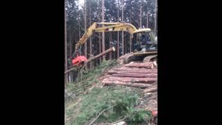 getlinkyoutube.com-高性能林業機械 ㈲吉川林業 高知大豊町 西内成彦オペレーター