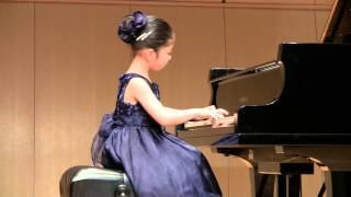 """きらきら星変奏曲【モーツァルト】♪ 小1 (7歳) ♪""""Mozart Ah, vous dirai-je, maman K.265"""""""