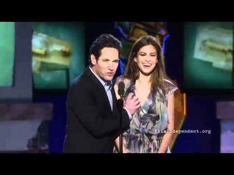 Paul Rudd et Eva Mendes aux independent spirit awards