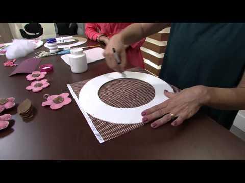 Mulher.com 21/08/2013 Patricia Reimberg - Guirlanda Porta Maternidade P 1/2