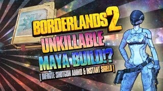 getlinkyoutube.com-Borderlands 2: UNKILLABLE Impulsive Backdraft Maya Build - Level 61 & 72 Build in Description!