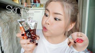 getlinkyoutube.com-วิธีใช้และสวอชสี SkinAZ Kissable Lip Tattoo ลิปทินต์ลอกคราบ