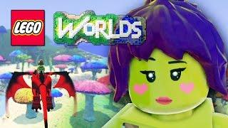 getlinkyoutube.com-DIGITAL LEGOS! - LEGO Worlds