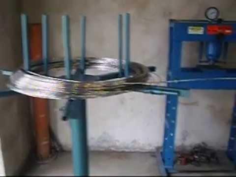 Máquina de corrente de alumínio para calhas dàgua com martelinho